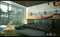 Modern Japanese Bedroom  6 Designs