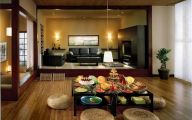 Modern Japanese Living Room Design  12 Picture