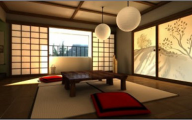 Modern Japanese Style Living Room  11 Designs