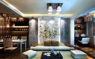 Modern Japanese Style Living Room  14 Arrangement
