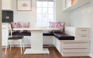 Modern Kitchen Banquette  2 Architecture