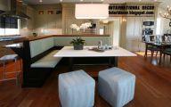 Modern Kitchen Banquette  28 Designs