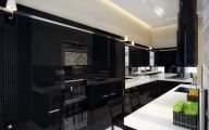Modern Kitchen Black And White  11 Inspiration