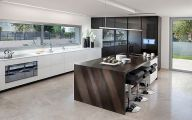 Modern Kitchen Black And White  13 Inspiring Design
