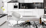 Modern Kitchen Black And White  24 Architecture
