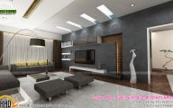 Modern Living Room Kerala Style  14 Decoration Inspiration