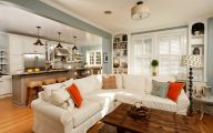 Modern Living Room Kitchen  5 Decoration Idea