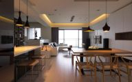 Modern Living Room Kitchen  9 Picture
