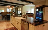 Traditional American Kitchen  63 Architecture
