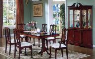 Traditional Dining Room Sets Cherry  14 Decor Ideas