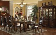 Traditional Dining Room Sets Cherry  16 Picture