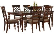 Traditional Dining Room Sets Cherry  24 Arrangement