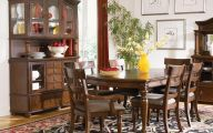 Traditional Dining Room Sets Cherry  26 Decoration Idea