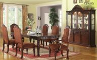 Traditional Dining Room Sets Cherry  33 Decoration Idea