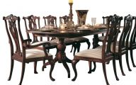 Traditional Dining Room Sets Cherry  4 Decoration Idea