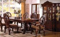 Traditional Dining Room Sets Cherry  7 Arrangement