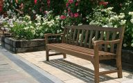 Traditional Japanese Garden Bench  13 Designs