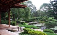 Traditional Japanese Garden Bench  16 Decoration Inspiration