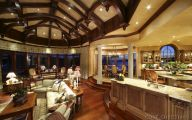 Traditional Kitchen And Living Room Design  23 Decoration Inspiration