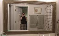 Big Bathroom Mirrors  32 Decor Ideas
