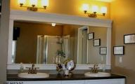 Big Bathroom Mirrors  33 Home Ideas