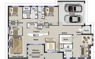 Big Bedroom House Plans  2 Designs