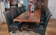 Big Dining Room Sets  9 Design Ideas