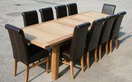 Big Dining Room Table  17 Arrangement