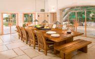 Big Dining Room Table  22 Decor Ideas