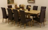 Big Dining Room Table  25 Decoration Idea