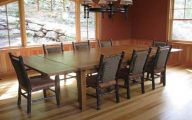 Big Dining Room Table  27 Home Ideas