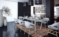 Modern And Elegant Dining Room  5 Arrangement