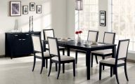 Modern And Elegant Dining Room  6 Arrangement