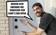 Modern Exterior Door Hardware  9 Designs