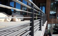 Modern Exterior Railings  25 Arrangement