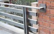Modern Exterior Railings  6 Designs
