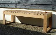 Modern Garden Bench  16 Inspiration