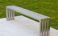 Modern Garden Bench  18 Architecture