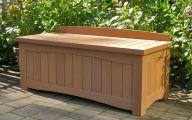 Modern Garden Bench  3 Arrangement
