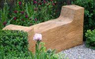 Modern Garden Bench  39 Designs