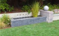 Modern Garden Fountains  17 Architecture