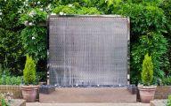 Modern Garden Fountains  26 Decor Ideas