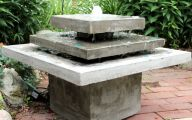 Modern Garden Fountains  28 Design Ideas