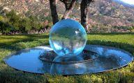Modern Garden Fountains  32 Architecture