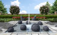 Modern Garden Fountains  5 Designs