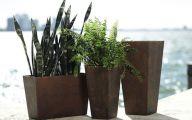 Modern Garden Planters  3 Picture