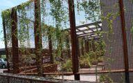Modern Garden Trellis  20 Decor Ideas