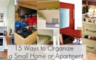 Small Bedroom Organization  3 Decoration Idea