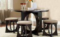 Small Dining Room Table  24 Arrangement
