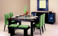 Small Dining Room Table  8 Arrangement